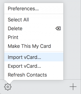 import-vcards